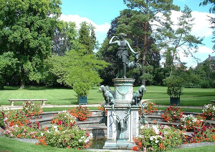 Les Jardins Du Chateau Fontainebleau Tourisme Fontainebleau Tourisme