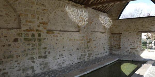 Le lavoir à Samois-sur-Seine