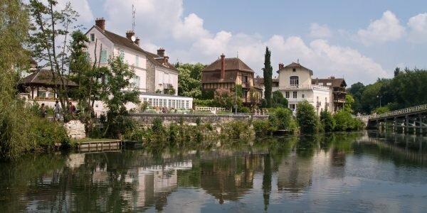 Les villas de bord de Seine