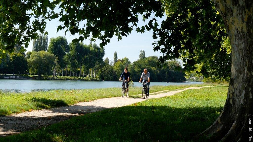 Rives de Seine balades vélo