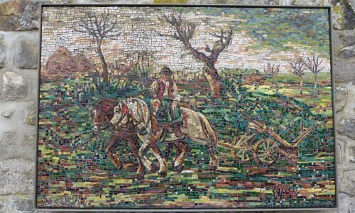 Mosaïque | Le Laboureur
