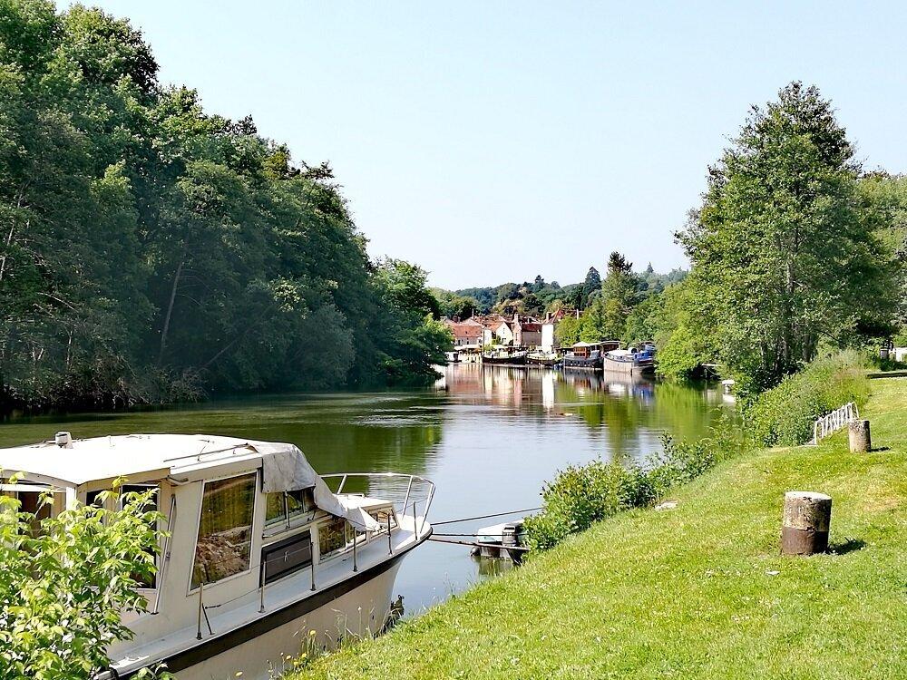 Bords de Seine à Samois-sur-Seine