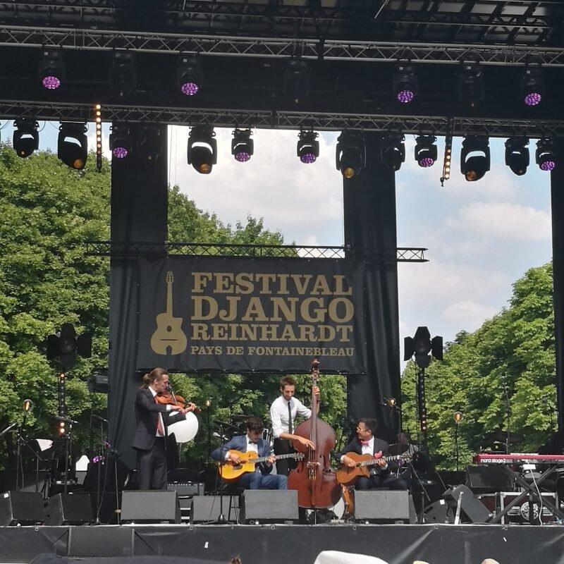 Romain Villemin quatuor festival Django Reinhardt 2018