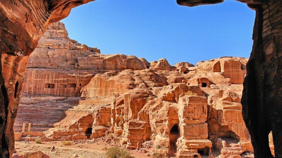 Photographie Petra en Jordanie par Fabrice Milochau
